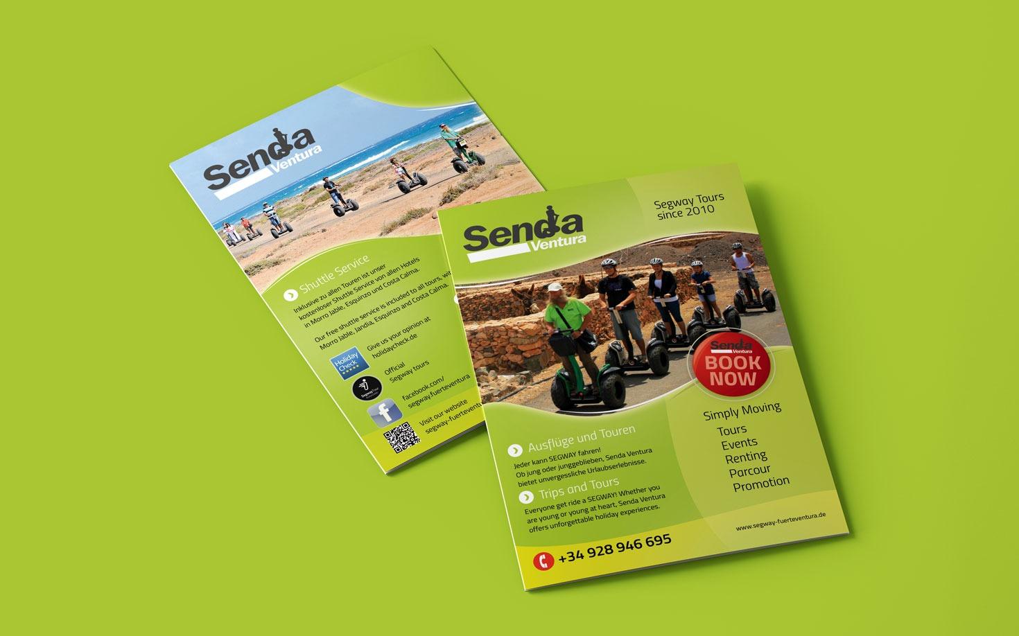 Senda Ventura Segway Fuerteventura - Flyer Design
