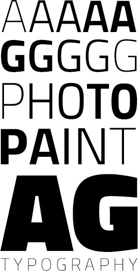AG Photo & Paint - Typography