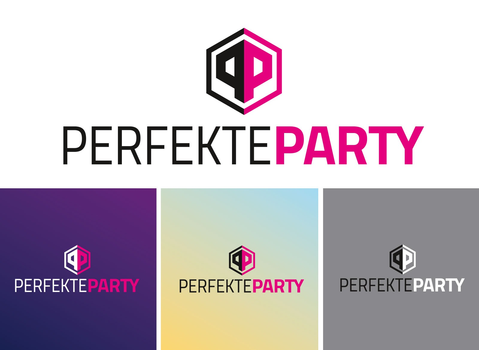 Logo Design für Perfekte Party
