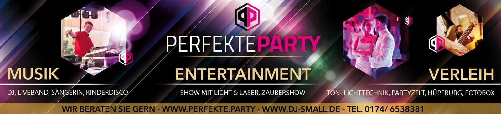Anzeigen Gestaltung für Perfekte Party