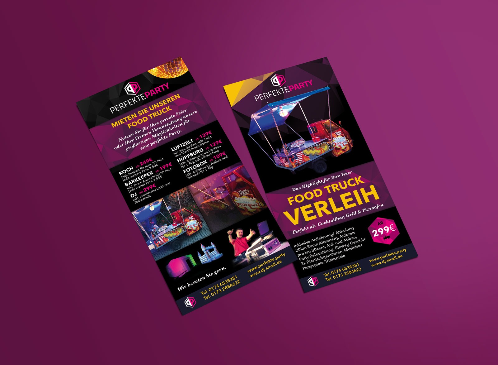 Flyer Design für Perfekte Party