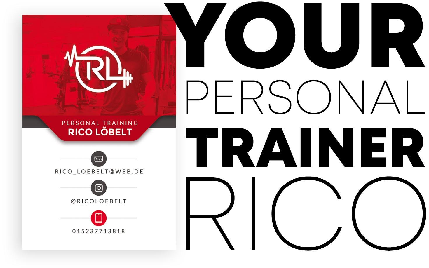 Personal Trainer Rico Loebelt Dresden